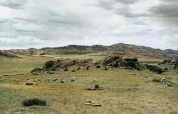蒙古东戈壁的地质